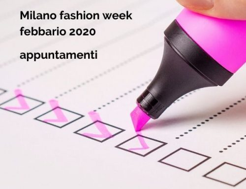 Milano fashion week 2020: gli appuntamenti di Paola Simeone con le borse PS RED WHALE