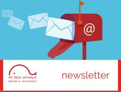 La newsletter di PS RED WHALE – borse e accessori